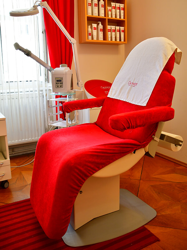 Kosmetik Irene Kosmetikstudio Innenaufnahme Guinot